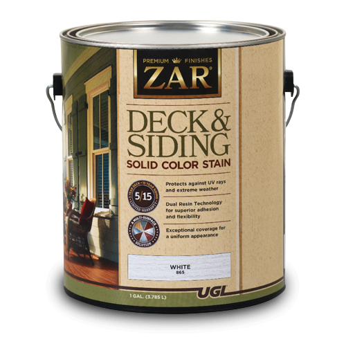 ZAR Solid Color Deck & Siding Stain