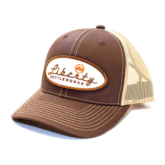 Liberty Bottleworks Brown Trucker Hat