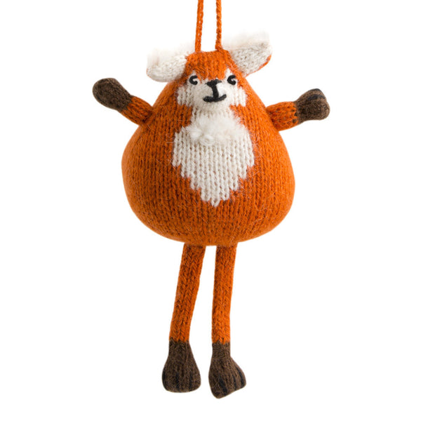Alpaca Fox Ornament