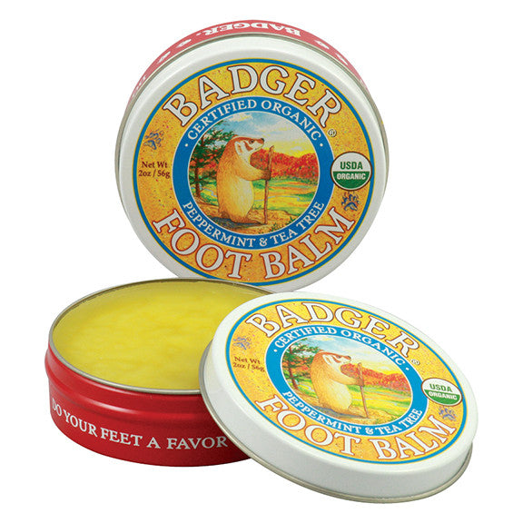 Soothing Foot Balm with Peppermint & Tea Tree