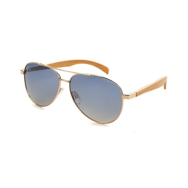 Copper & Beechwood Aviators