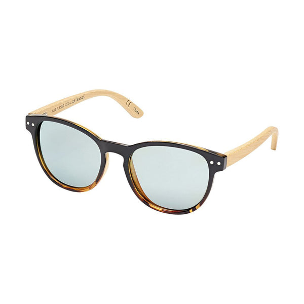Kennett Black & Honey Tortoise Bamboo Sunglasses