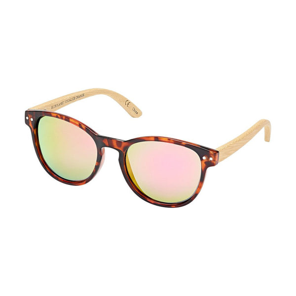 Kennett Walnut Tortoise Bamboo Sunglasses