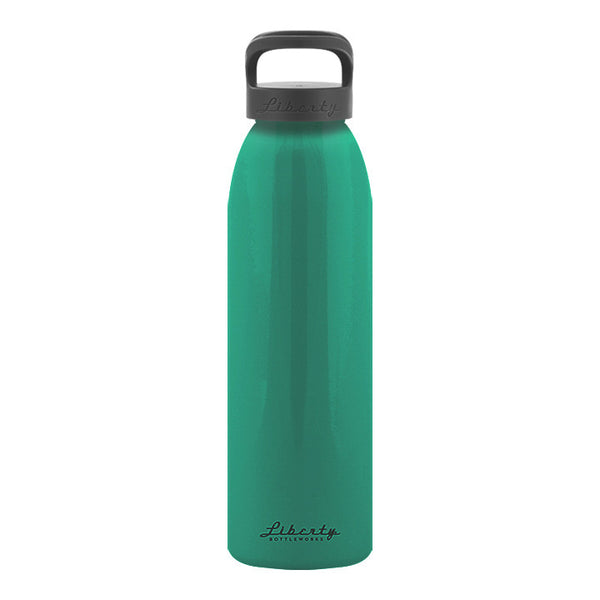 Sea Foam Green Recycled Aluminum Reusable Water Bottle