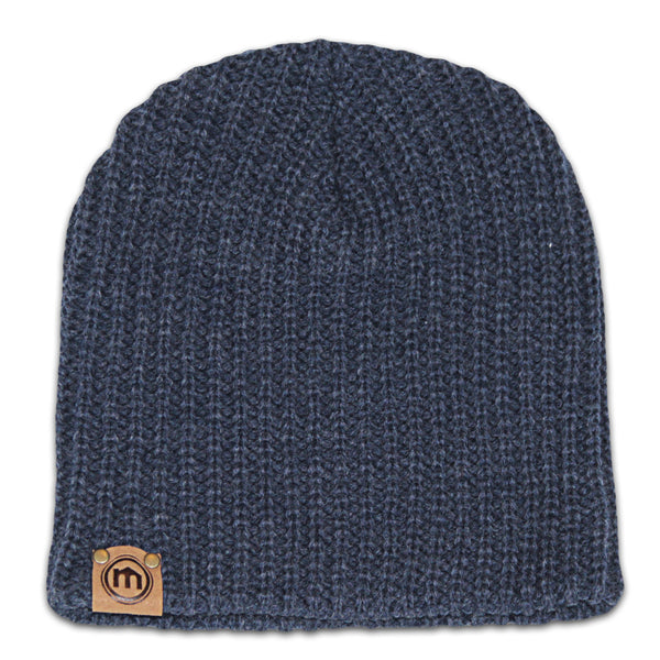 Denim Blue Beanie