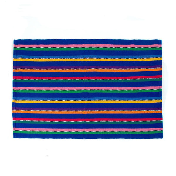 Blue Sololá  Striped Placemats, Set of 4