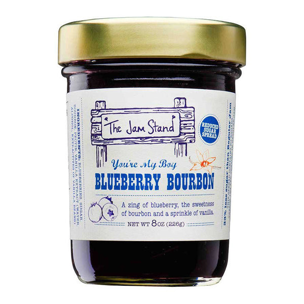 Blueberry Bourbon Jam