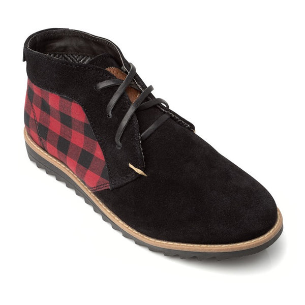 Buffalo Plaid Chukka Boot