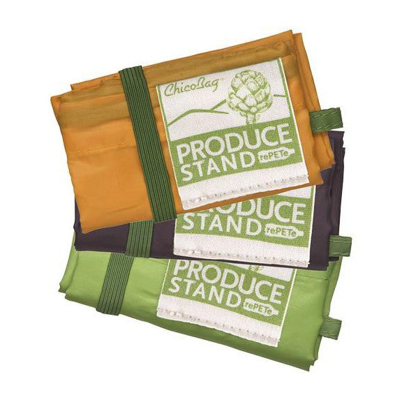 Reusable Recycled Fabric Produce Bags 3-Pack