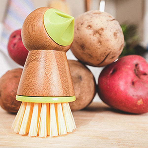 Eye-Removing Potato Scrubber