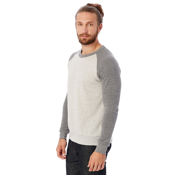 Color-Block Eco-Fleece Sweatshirt
