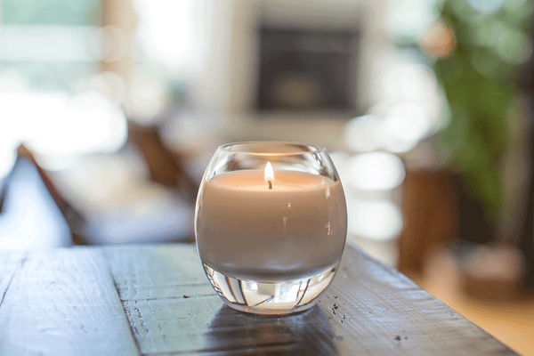 Glass Brilliance Candle Amber