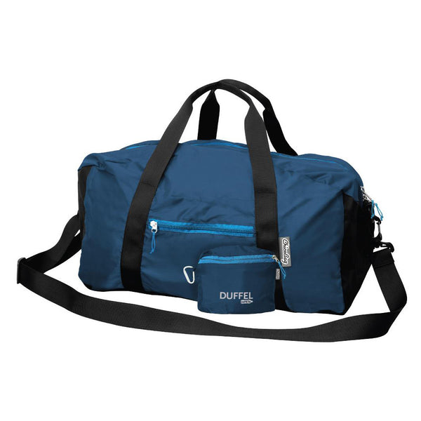 Recycled Space-Saving Duffel Bag