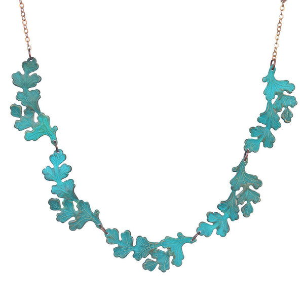 Demeter Verdigris Necklace