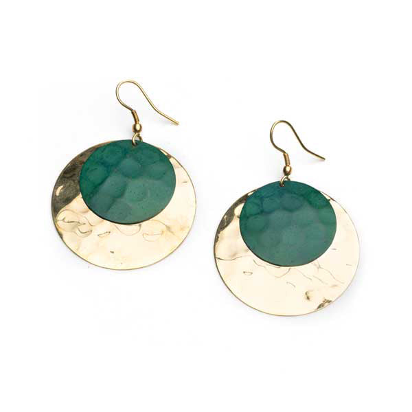 Devika Coin Drop Earrings