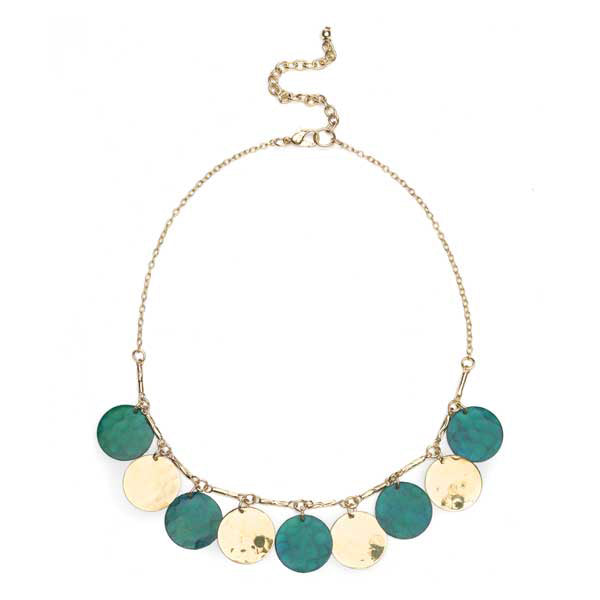 Devika Coin Drop Necklace