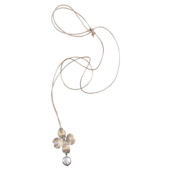 Petite Dogwood Necklace