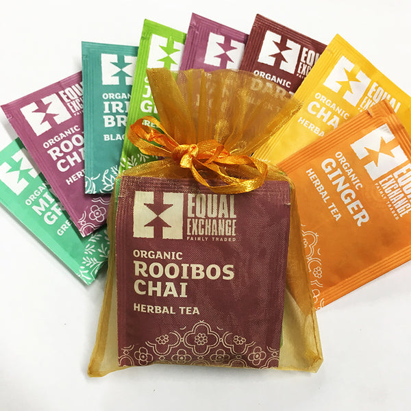 Organic Tea Sampler Sachet Gift Bag