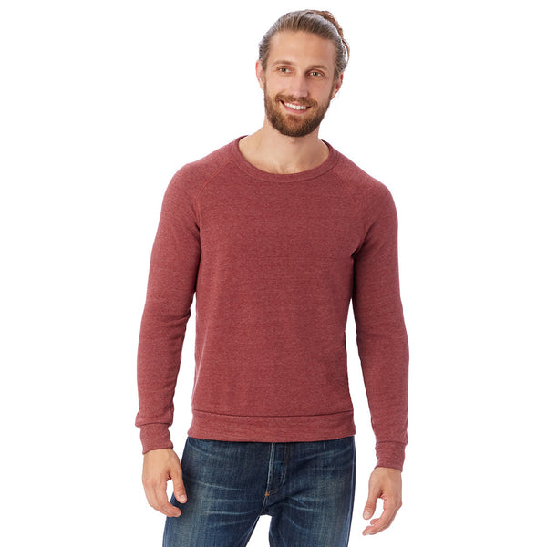 Eco-Fleece Sweatshirt - Red Currant