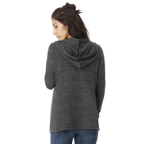Hooded Eco-Jersey Warm Up Wrap