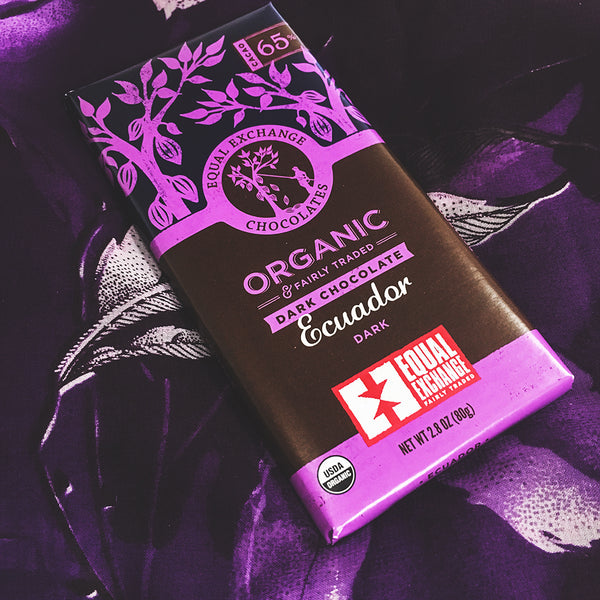Organic Ecuador Dark Chocolate Bar