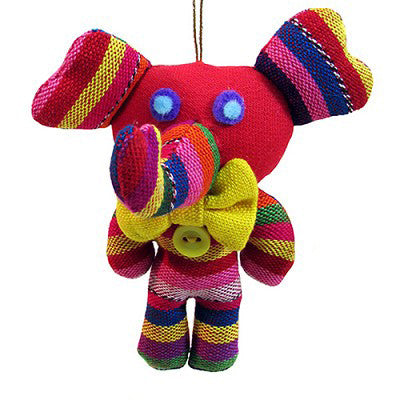Enrique the Elephant Handmade Ornament