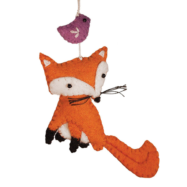 Wild Woolie Fox Ornament