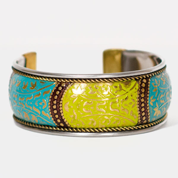 Bollywood Citrus Cuff