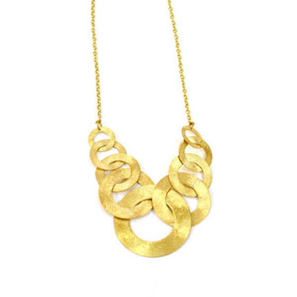 Linked Up Gold Necklace
