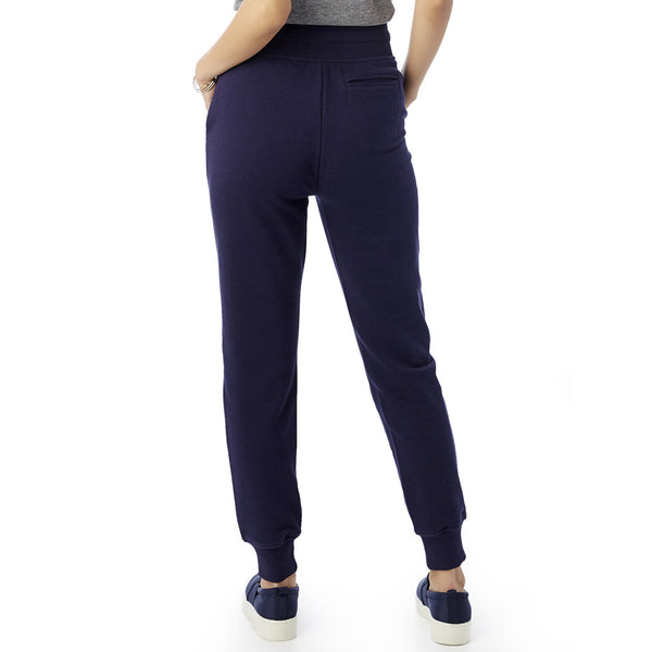 Midnight Blue Modal Fleece Jogger Pants