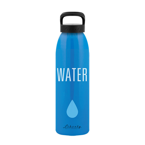 Recycled Aluminum Reusable Water Bottle