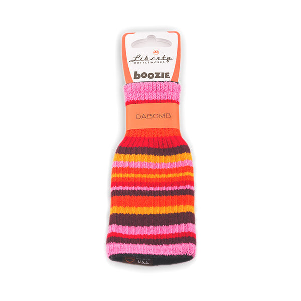 Bright Stripes Water Bottle Koozie