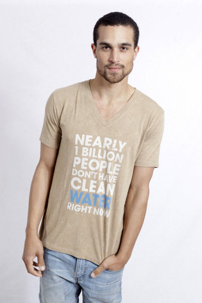 Clean Water V-Neck Tee