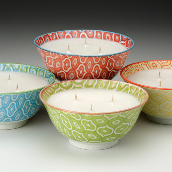 Majorelle Rice Bowl Candle