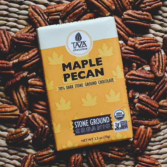 Maple Pecan Chocolate Bar
