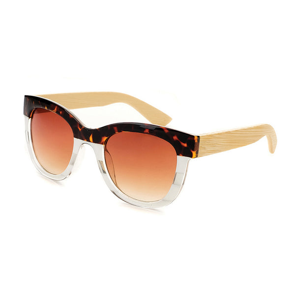 Mariposa Tortoise & Stripes Sunglasses