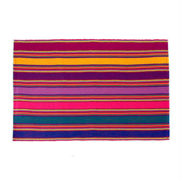 Mayan Fiesta Striped Placemats, Set of 4