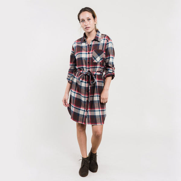 Murray Plaid Dress