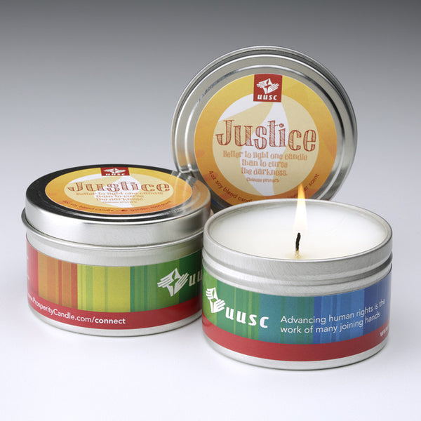 Justice Travel-Tin Candles