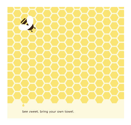 Bee Sweet Sustainable Hand Towel