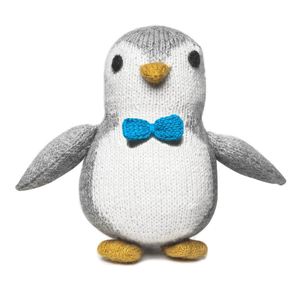 Stuffed Knit Alpaca Baby Penguin