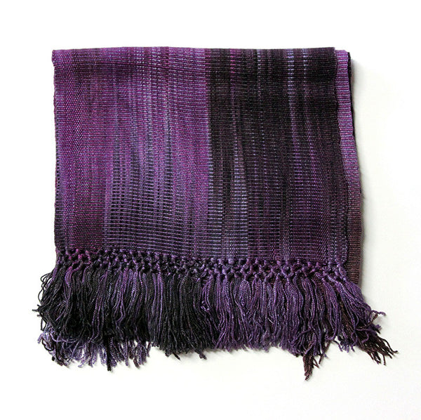 Purple Lightweight Bamboo Scarf