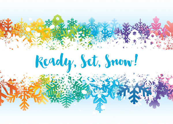 Ready, Set, Snow! Holiday Cards Pack of 10