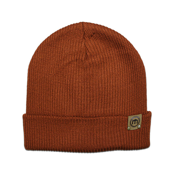 Rust Adjustable Cuff Beanie