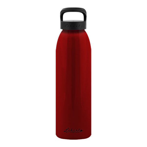 Scarlet Recycled Aluminum Reusable Water Bottle