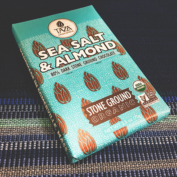 Sea Salt & Almond Chocolate Bar