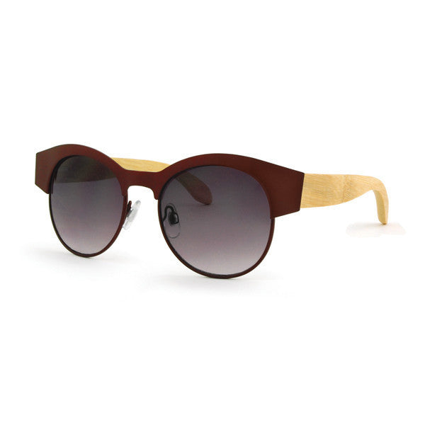 6218d1dd3d Sonora Merlot Bamboo Sunglasses - The Good Buy