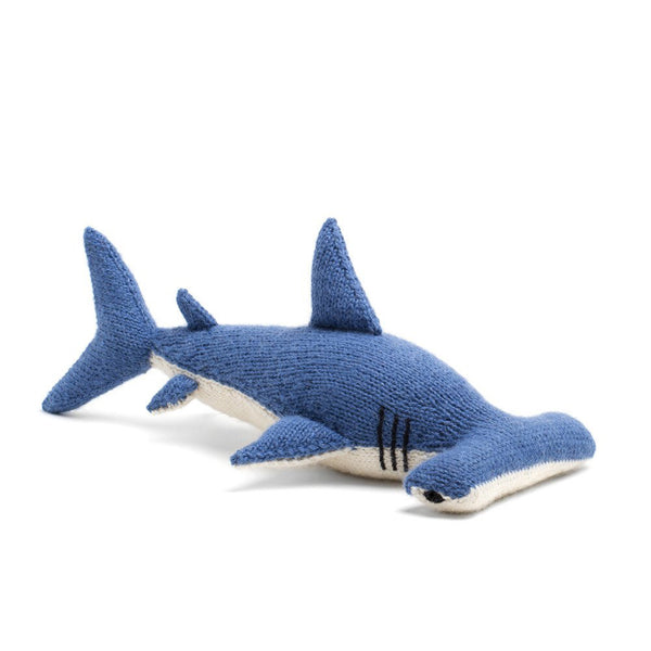 Stuffed Alpaca Hammerhead Shark
