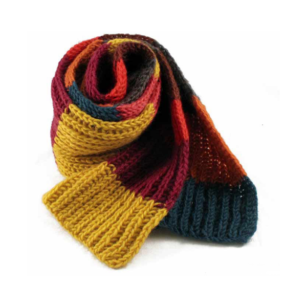 Warm & Wooly Scarf