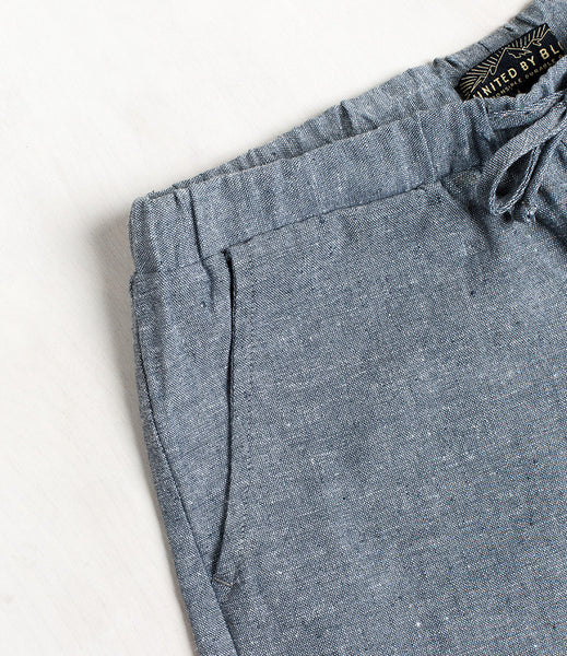 Zion Chambray Shorts